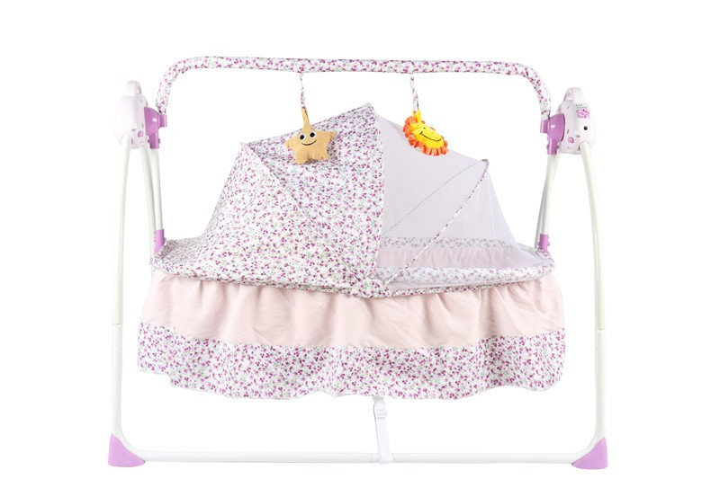 Baby swing crib Electric Cradle automatic swing baby crib baby bed