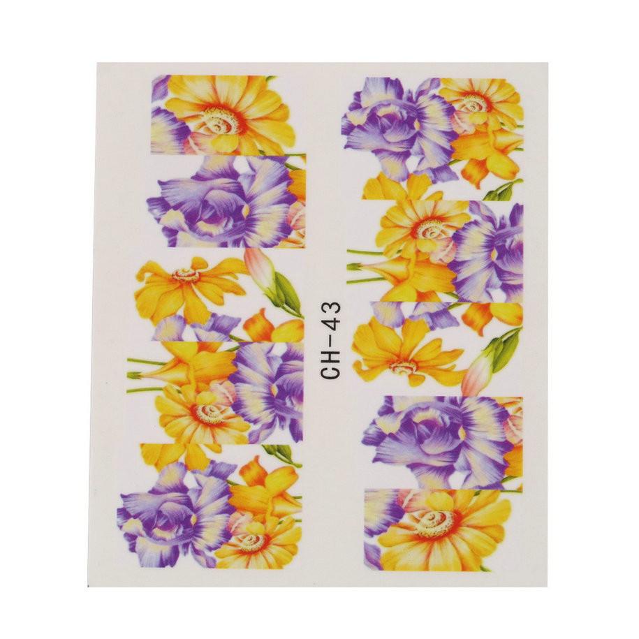 c81b968e07e Lillelised küünekleepsud – 50 lehte pakis | Tootemaailm.ee