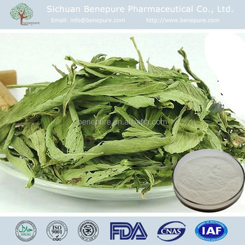 Pure Natural Sweetener RA60%, RA97%, RA98% HPLC Stevia Leaf Extract