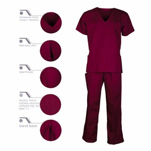 Best Quality Professional Standard Textile Scrubs