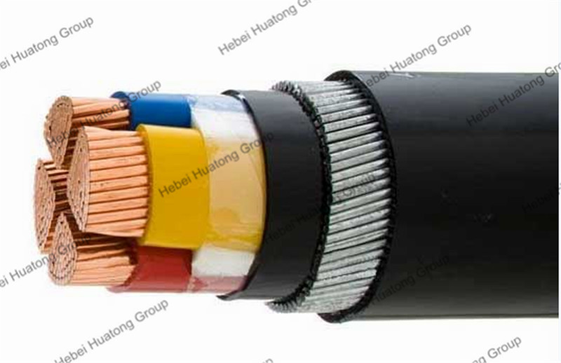 4 Core Galvanized Steel Wire Armour Electric Cable Specification ...