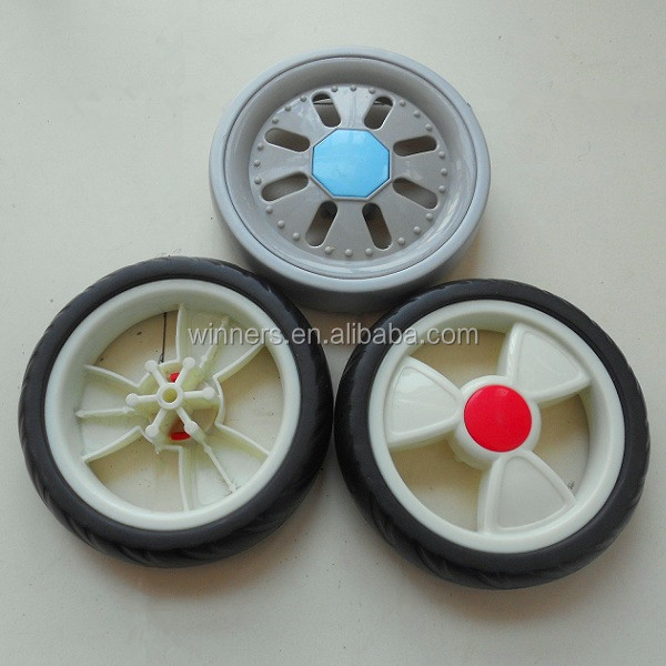 5 inch plastic toy car wheels