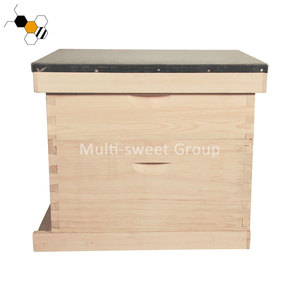 Langstroth beehive 2 layers 8 or 10 frames wooden bee hive