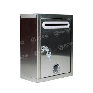 Factory Supply Custom German Mailbox, Stainless Steel Mail Box, Commercial Mailboxes for Sale with Lock