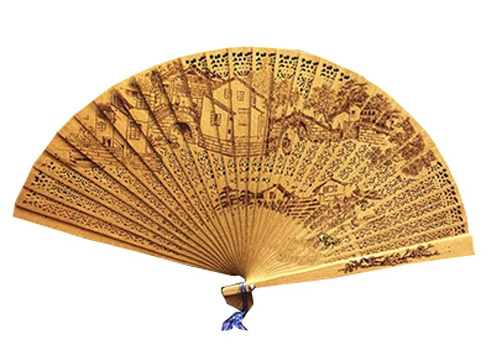 Folding Fans Chinese Style Chinese Fan Hand Fan Hand Held Fans Folding Hand Fan