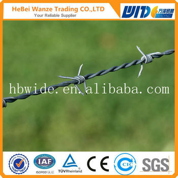 High Quality Low Price Galvanized Barbed Wire /barbed Wire Fence ...