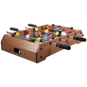 Latest Customizable Classic Sport Foosball Table Game High Quality Professional Children Table Football