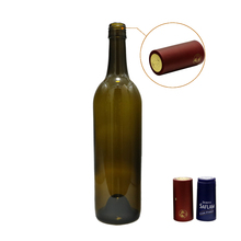 Wholesale750ml Bordeaux Kaca <span class=keywords><strong>Botol</strong></span> <span class=keywords><strong>Anggur</strong></span> dengan Screw Cap