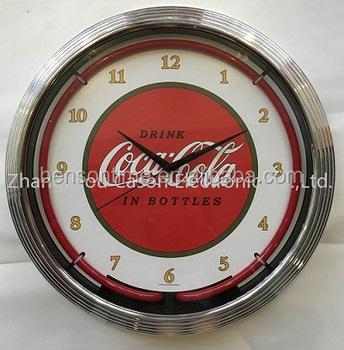 Cason Logo Custom Neon Clock For Shop Buy Logo Custom ClockNeon