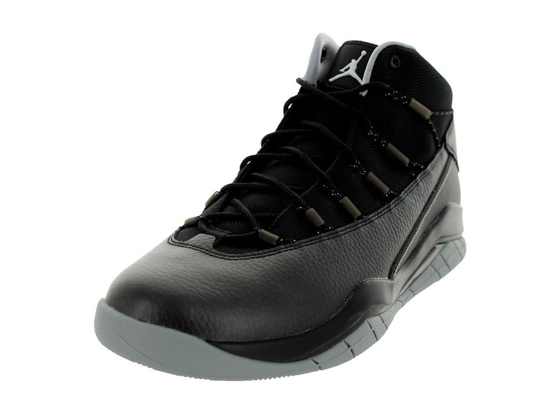 detailed look e7c63 fa766 Nike Jordan Air Flight 9 Mens Basketball Shoes Size 13 Black Red Gray GUC  201