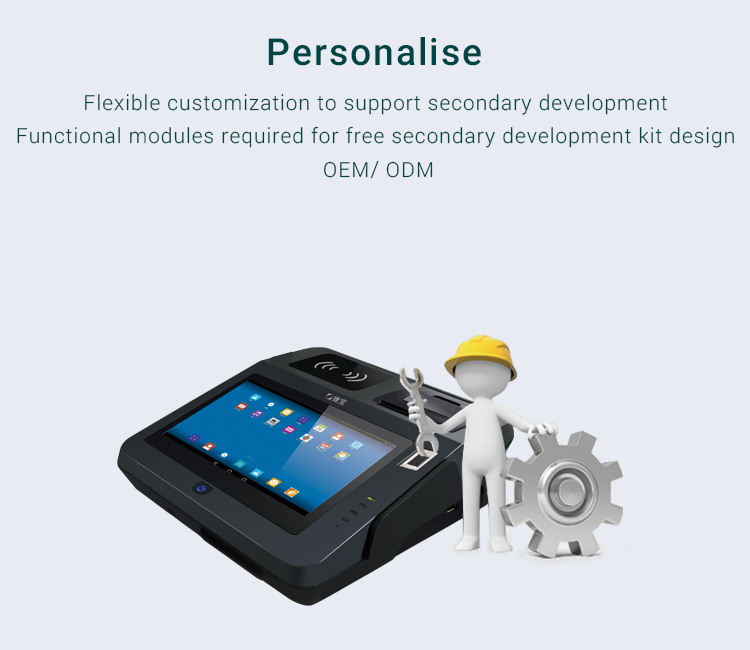All In One Android Pos System With Nfc Reader 3g 4g Wifi Card Reader And  Barcode Scanner Printer Jp762ac - Buy All In One Pos System,Wifi Pos