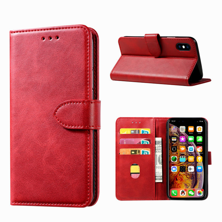 Pu Leather Flip Cover Voor Iphone 5 Accessoires, Voor Iphone 5 Wallet Case, Lederen Case Voor Iphone 5