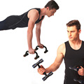A Pair of Push Up Bar Stands I Type Handles Fitness Enquipment Gym Home Muscle Training
