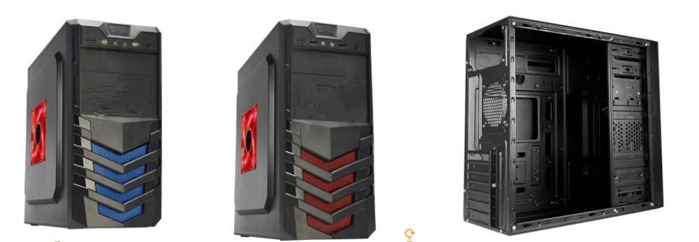 Oem Wholesale Aluminum Atx Desktop Full Tower Gaming Computer Parts Pc Case  - Buy Computer Case,Pc Case,Atx Case Product on Alibaba com