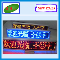 Zhenghua NEWTIMES 100% Response Rate/led light bar display / P10 full-color LED screen