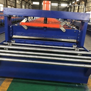 High Rib Metal Roofing Roll Forming Machine With Auto Stacker