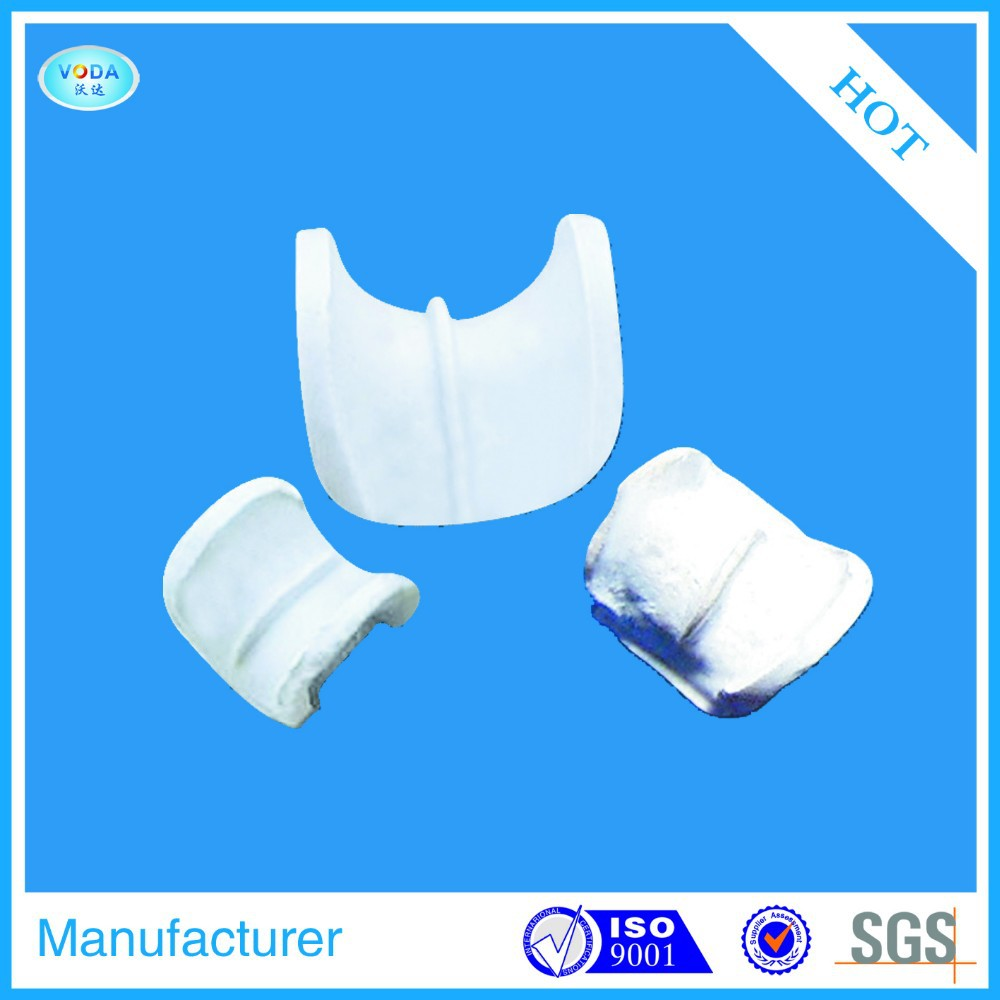 Ceramic Berl Saddle Ring For Cooling Tower/Drying Tower/Absorbing Tower Packing