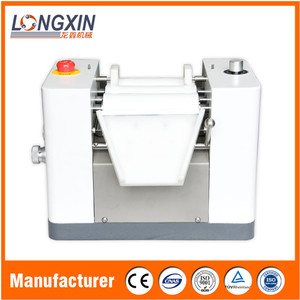 high quality longxin peanut butter lab three roll mill with ce iso certificate