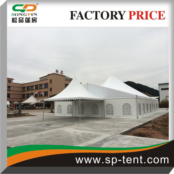 Aluminium Structural Tent Combined Together for Wedding, Events With High Peak
