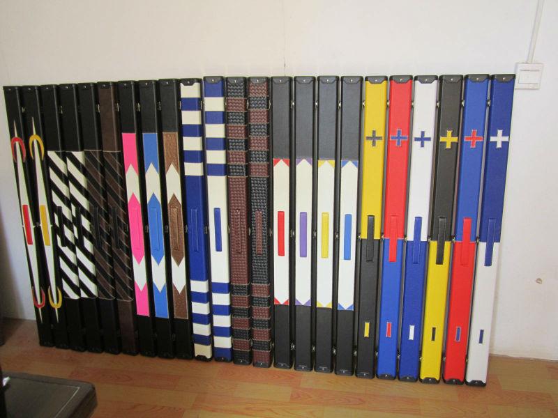 CUESOUL 57 Artesan/¨/ªa 3//4 articulado Snooker Cue con el Caso de Referencia