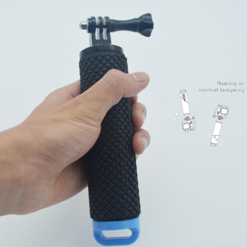 Углеродного Волокна Плавающей Рукоятки Штативы Для Gopro Hero 4 Профессиональных Для Сяо ми Yi Действий Камеры Sj4000 Wifi Аксессуары