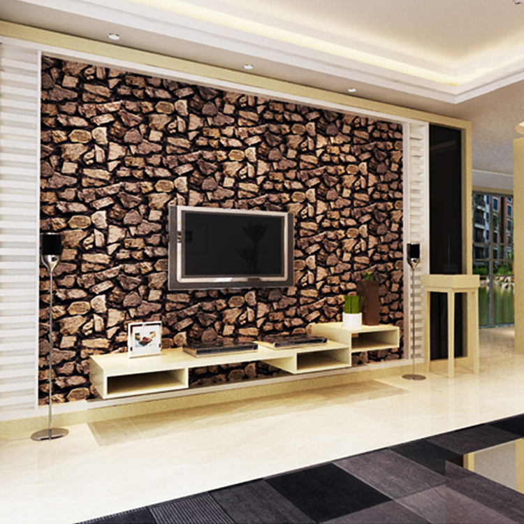 3d Stone Wallpaper Luxury Vintage Brick Effect Wallpaper