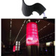 indoor outdoor p4 p5 p6 p10 p12 railway station advertising led display light weight any shape soft video led display
