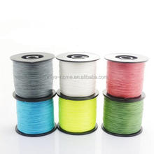 High quality 500M 4 Strand Weaves Fishing Lines / strength nylon Braided / Super Strong Multifilament PE Braided Fishing Line