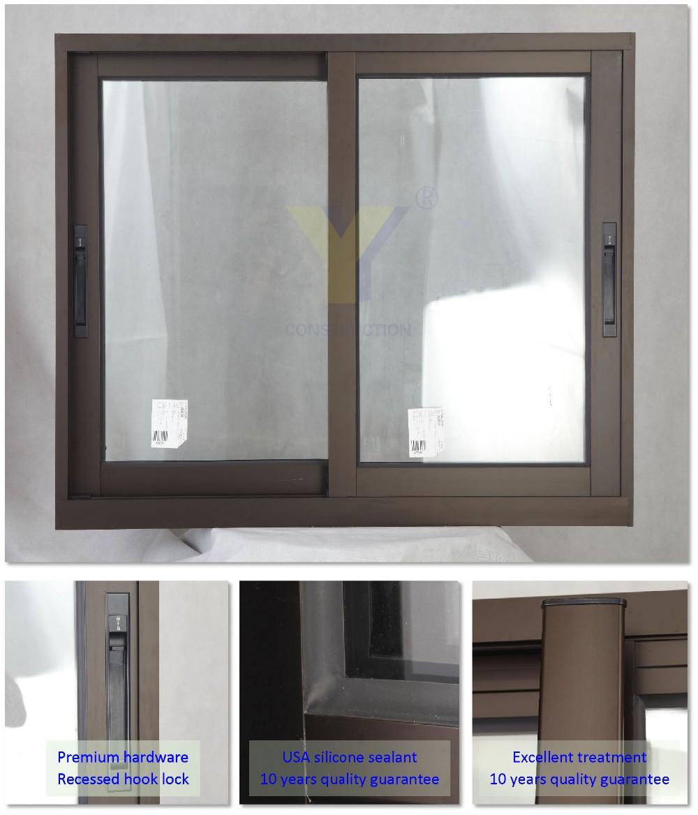 Aluminum sliding windows - a popular solution for glazing