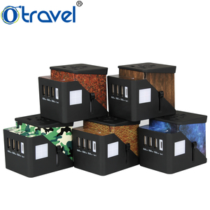 Innovative new products traveling holiday fancy gift item bussines gift travel adapter with type c port executive corporate gift