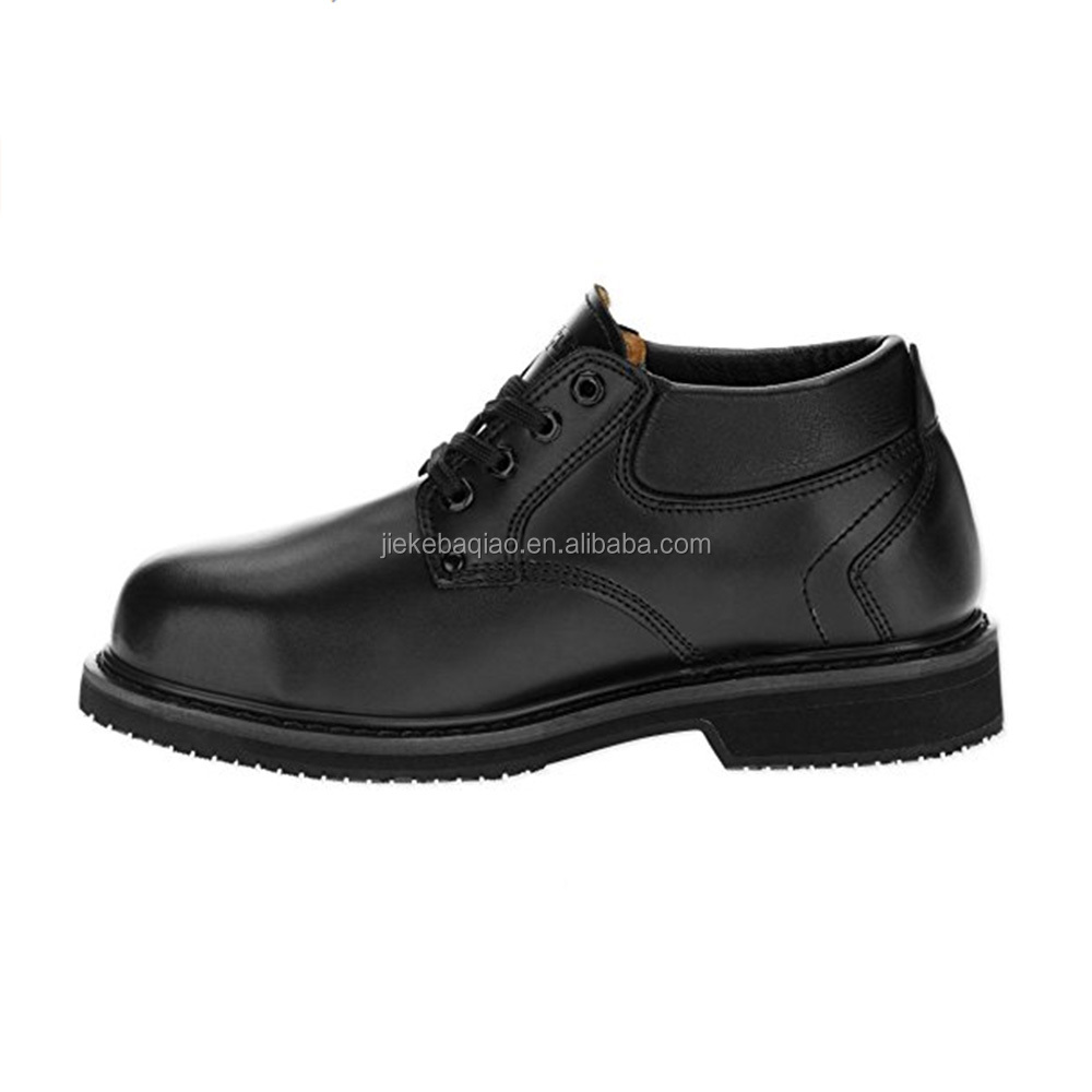 Men's Work Safety Boots Leather Shoes Steel Toe Safety Shoes