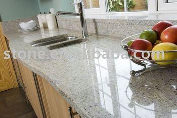 Kashmir Bianco Granito Piani Cucina Contatore - Buy In Alto Bancone Della  Cucina,Granito Della Cucina Contro Parte Superiore,Piano Cucina In Granito  ...