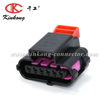 6 pin automotive accelerator pedal plug connector for 06-08 Audi A3 VW Skoda VOLVO