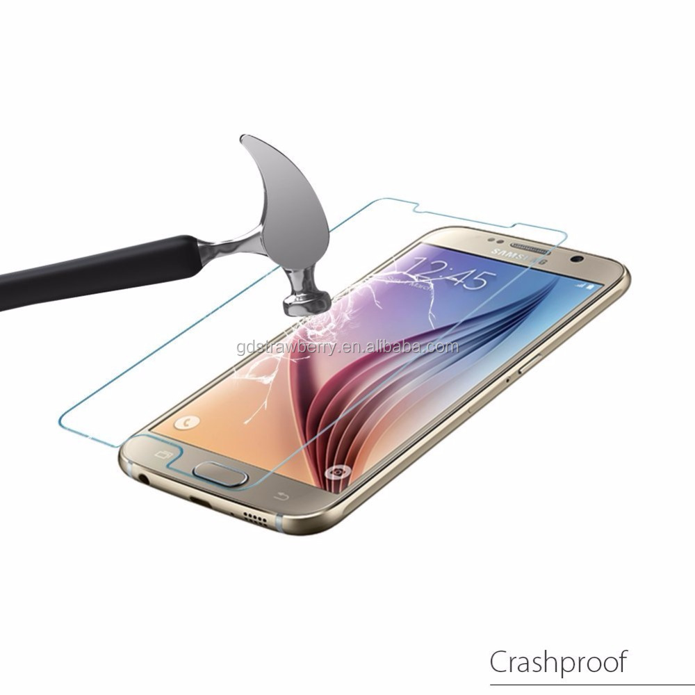 2016 trending products film glass screen protector phone accessories for Samsung mobile phone galaxy s7