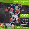 Ciao retail online shopping sublimation 6 color 6 station manual t-shirt screen printing machine for woman