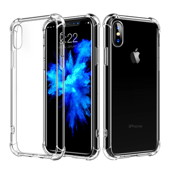 Mobile Phone Clear TPU Case For iPhone XS MAX Case 2018 For iPhone XS MAX Cover Shockproof For iPhone XS MAX Bumper Case cover