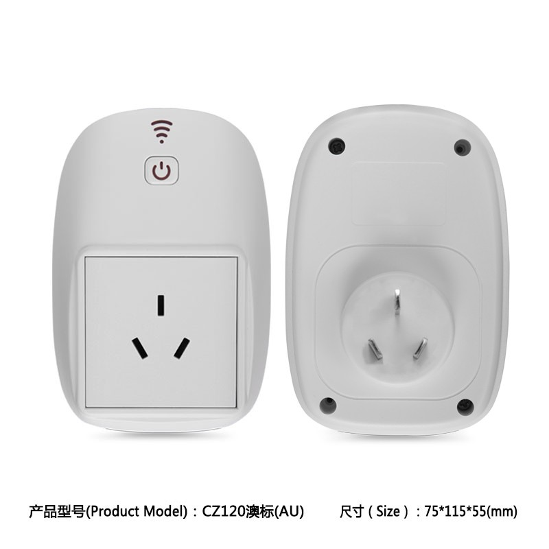 2017 new product AU Standard Grounding and Tabletop Socket Type electric plug socket box