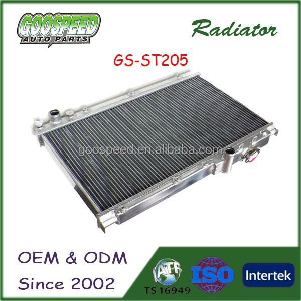 high performance auto aluminum Radiators for Toyota Celica 94-99 ST205