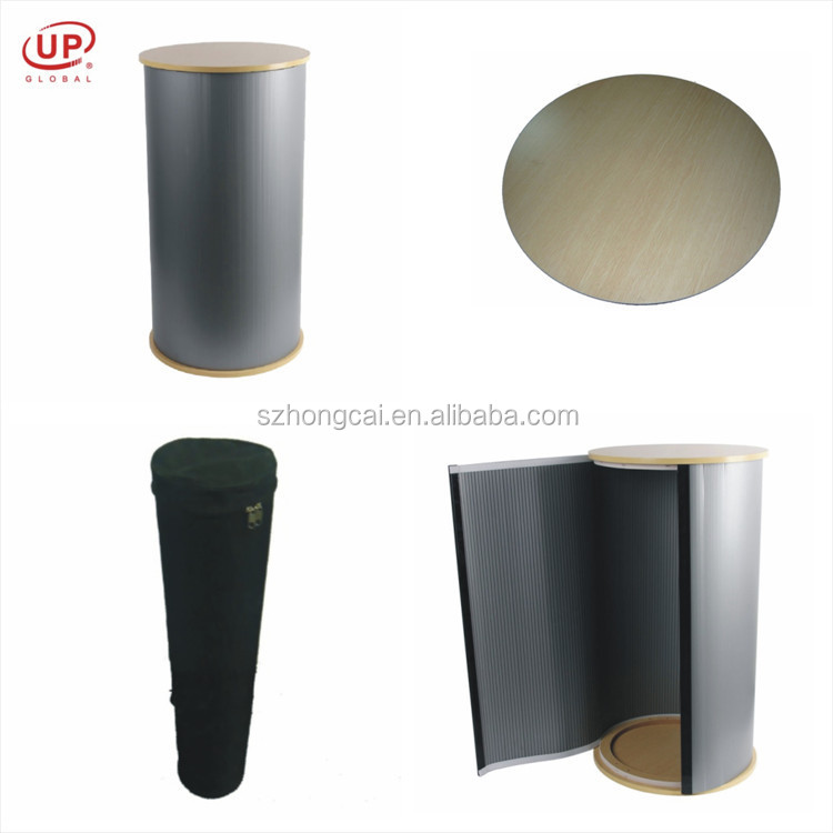 High quality trade show and exhibition folding plastic table price