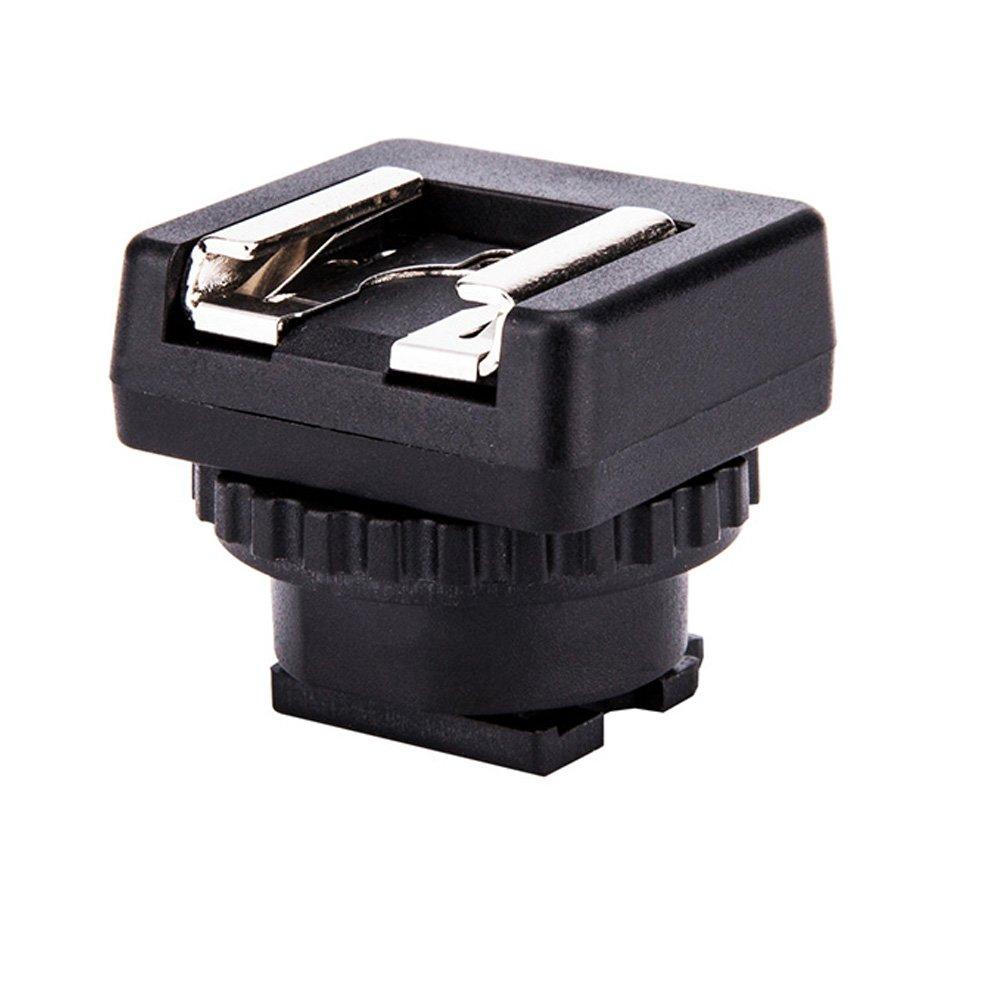 JJC Microphone & LED Light Shoe Adapter Converter for Sony Camcorder with Multi Interface Shoe Such As Sony HDR-AX53/AX33/AX100/CX675/CX900/CX610E/CX530E/CX510E/CX400E/PJ810E/PJ790E/PJ780E/PJ660E