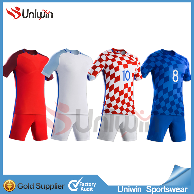 b867c680a16 2016 17 Thai Quality Jerseys Wholesale Blank Soccer Jersey