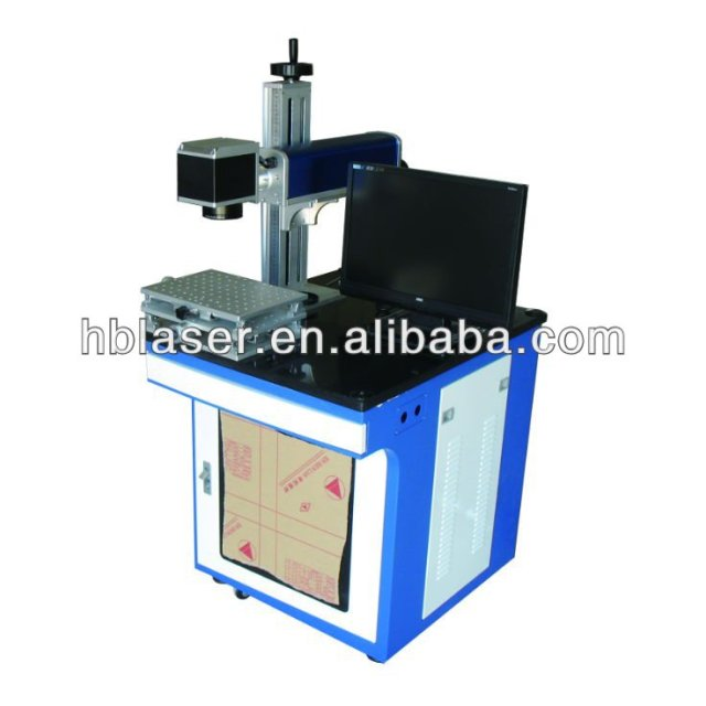 China Optical Valley 20W Air cooling fiber laser printer for pipe marking