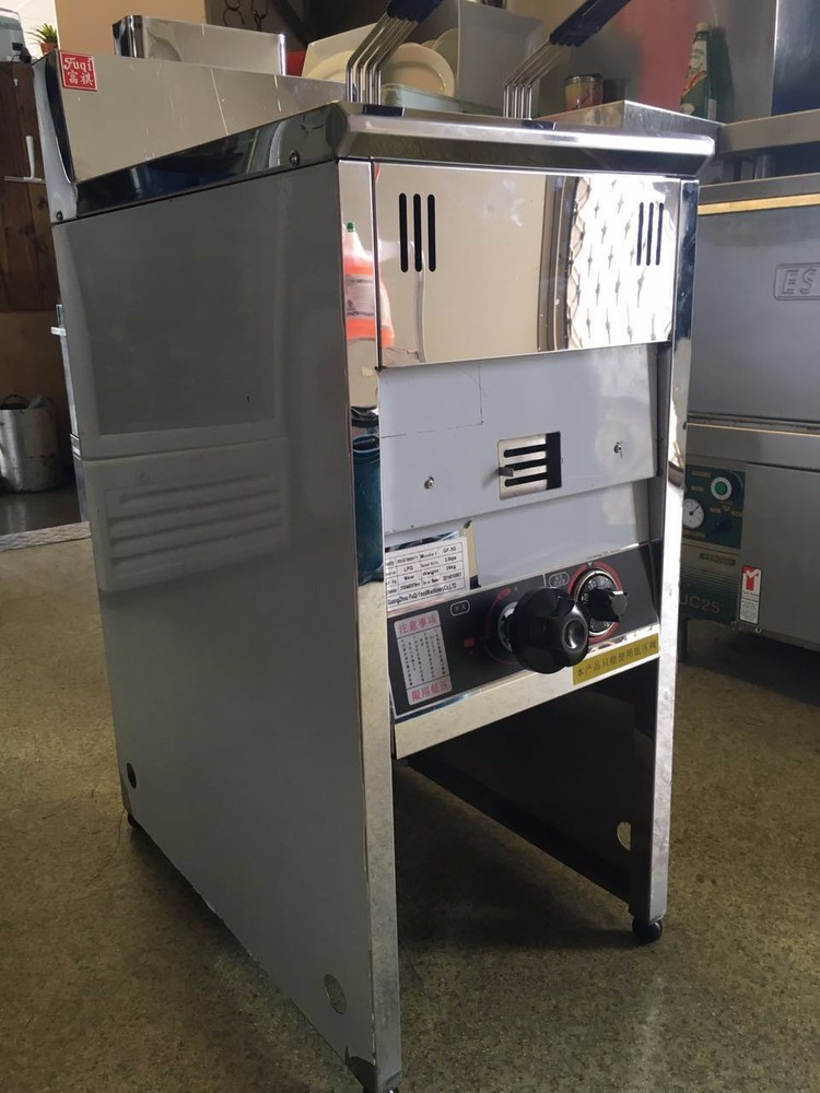 IS-GF-3G 25L KFC Gas Fried Chicken Fryer Open Fryer With Best Quality Frying Machine Freestanding Safety Gas Fried Chicken Fryer