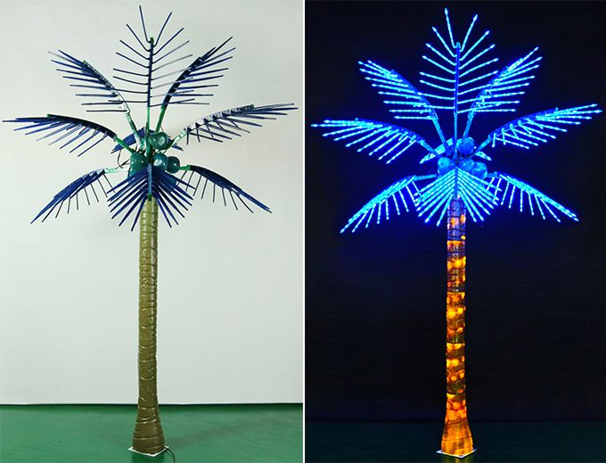 Lighted Natural Artificial Coconut Palm Tree Buy
