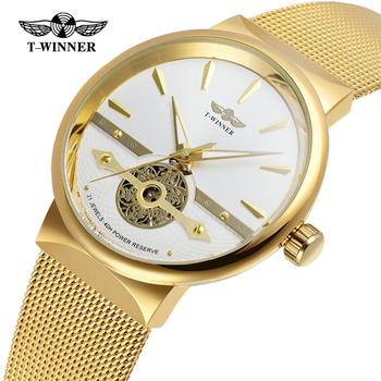 Winner New Number Sport Design Bezel Golden Watch Mens Watches Top Brand Luxury Montre Homme Clock Men Automatic Skeleton Watch Buy Sport Watches