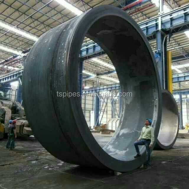 China factory direct sale welded steel pipe of S355K2+N material for construction purpose