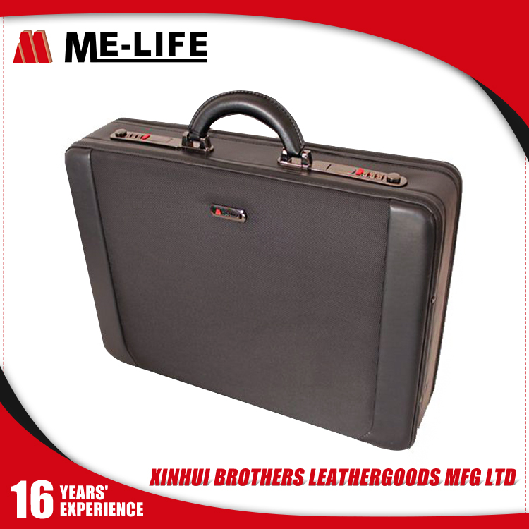 2017 New Year Gift Attache Case Fashion Business Leather Brief Case