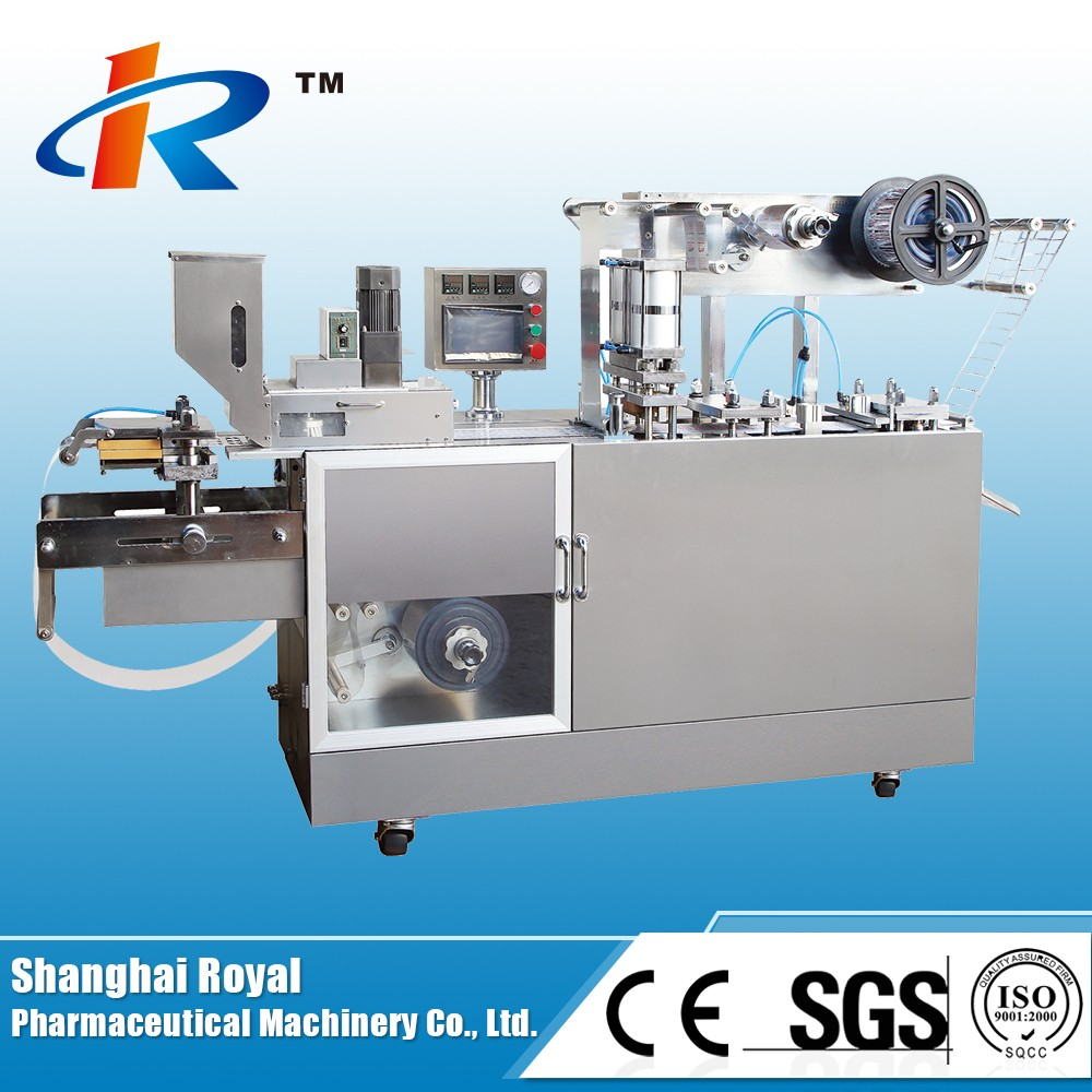 Dpb-80 Small Automatic Flat Plate Tablet Blister Packing Machine ...