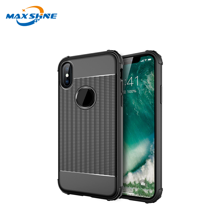 Maxshine Latest High Quality Tpu Phone Case For Iphone X Xr Xs , Phone Shell Armor Shockproof Case For Apple Iphone Xs Max
