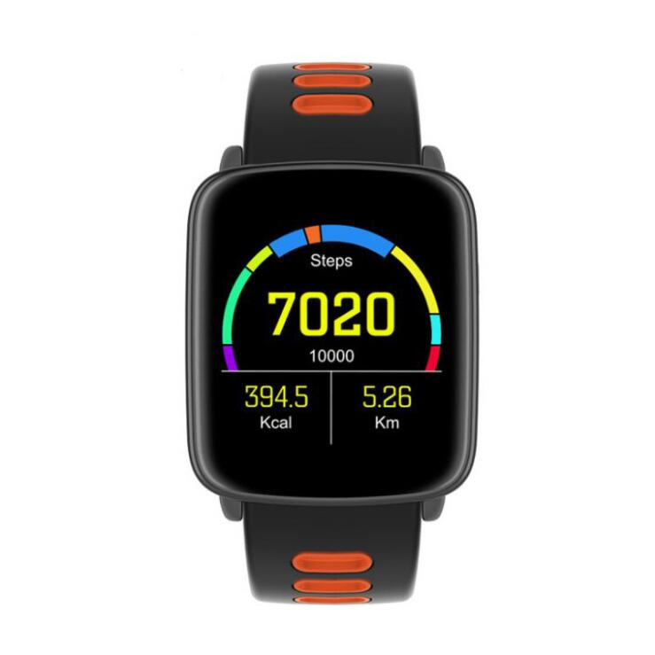2017 IP68 Waterproof Sports Bluetooth Smart Watch GV68 MTK2502 Message Call Reminder Remote heart rate